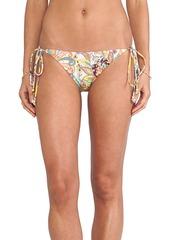 Shoshanna String Bikini Bottom in Yellow