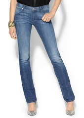 Hudson Jeans Carly Mid Rise Straight Jean