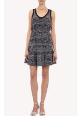Joie Tweed-print Sleeveless Dress