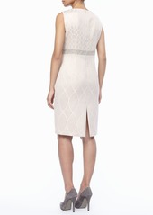Marina Rinaldi 3/4-Sleeve Deco Torta Coat, Women's