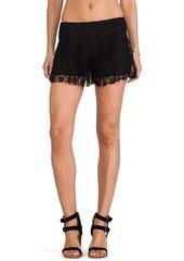 T-Bags LosAngeles Lace Shorts in Black