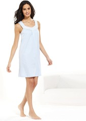 Charter Club Collection Short Sleeveless Gown