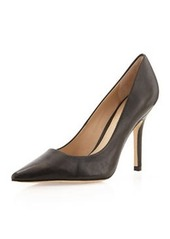Charles David Sway II Pointy Leather Pump, Black