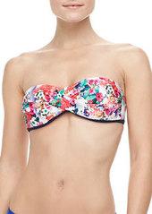 Fleur De La Mar Twisted Bandeau Bikini Top   Fleur De La Mar Twisted Bandeau Bikini Top