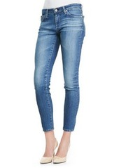 18 Years Faded Cropped Skinny Ankle Jeans   18 Years Faded Cropped Skinny Ankle Jeans