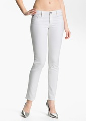 AG Jeans 'Stilt' Cigarette Leg Stretch Jeans (White)