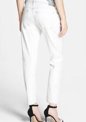 AG 'Nikki' Distressed Crop Jeans (22-Year Drifter)