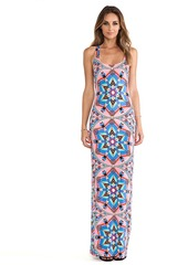 Mara Hoffman Modal Racerback Maxi Dress in Pink