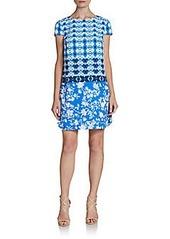 Cynthia Steffe Fallon Printed Shift Dress