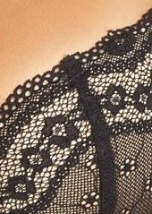 Betsey Johnson Eyelet Lace Balconette Bra (Online Only)