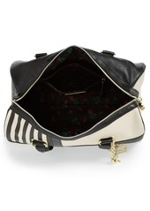 Betsey Johnson Faux Leather Satchel