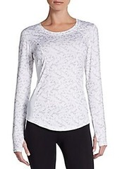 Betsey Johnson Floral Lace Tee