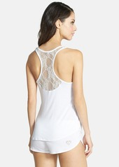 Betsey Johnson Lace Racerback Short Pajamas
