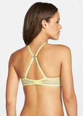 Betsey Johnson 'Stocking Stripe' Underwire T-Shirt Bra