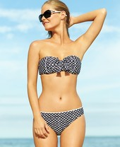 Kenneth Cole Reaction Umbrella-Print Bikini Bottom