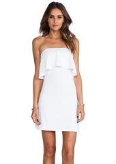 Susana Monaco Sansa Strapless Dress in White