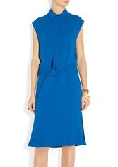 Etro Cutout-back cady dress