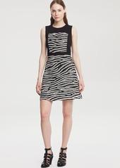 Kenneth Cole New York Dafny Zebra Print Dress