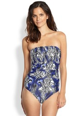 Etro One-Piece Bandeau Swimsuit