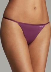 Calvin Klein Underwear Thong - Sleek Model #D3509