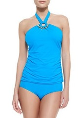 Tribal Muse Bandeau Halter-Neck Tankini Top   Tribal Muse Bandeau Halter-Neck Tankini Top