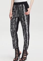 Kenneth Cole New York Brody Python Print Pants