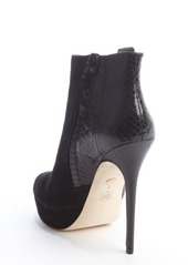 Charles David black suede snake 'Scarlette' boots