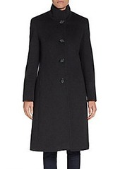 Cinzia Rocca DUE Long Wool-Blend Coat