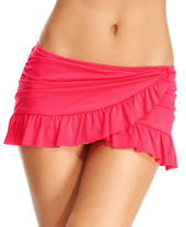 Kenneth Cole Reaction Ruffle Swim Skirt