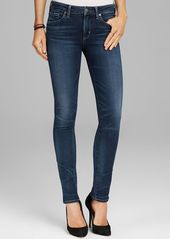 Citizens of Humanity Jeans - Arielle Mid Rise Slim Straight in Hewett