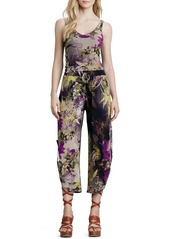Jean Paul Gaultier Winter Floral-Print Pants