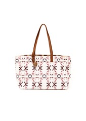 Born Free Tory Burch Reversible Canvas Tote