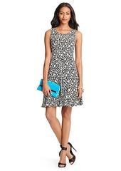 Clara Leopard Print Flared Dress