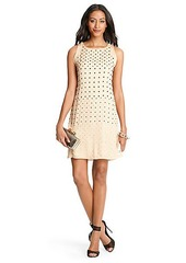 Ella Embellished Silk Chiffon Dress