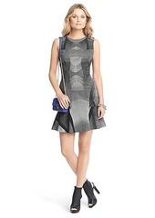 Jaelyn Sleeveless Flared Knit Dress