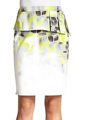 Elie Tahari Etta Peplum Skirt