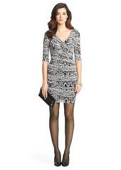 Bentley Short Ruched Chiffon Dress