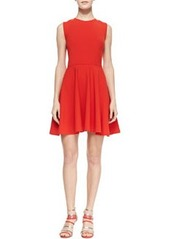 Jeannie Fit-and-Flare Dress, Chili Pepper   Jeannie Fit-and-Flare Dress, Chili Pepper