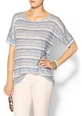 JET by John Eshaya Stripe Oversized Tee