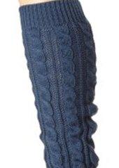 Betsey Johnson Women's Classic Cable Leg Warmer