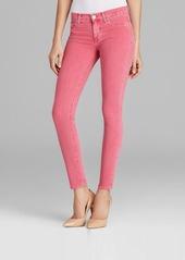 Hudson Jeans - Nico Super Skinny in Suede Rose