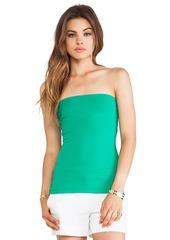 """Susana Monaco 9"""" Tube Top in Green"""
