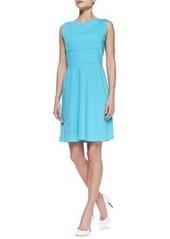 Callie Sleeveless Flared-Skirt Dress   Callie Sleeveless Flared-Skirt Dress