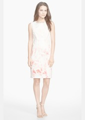 Elie Tahari 'Maren' Cotton Sateen Sheath Dress