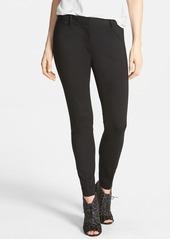 Elie Tahari 'Verda' Slim Double Knit Pants