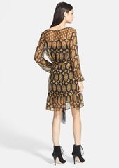 Ella Moss Marigold Print Silk Dress (Nordstrom Exclusive)
