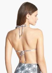 Ella Moss 'Moselle' Reversible Crochet Triangle Bikini Top