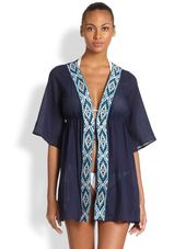 Shoshanna Maine Embroidered Tunic