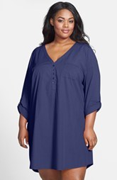 Nordstrom 'In the Mix' Nightshirt (Plus Size)