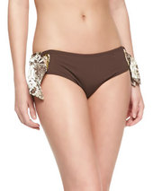 Tie-Side Hipster Swim Bottom   Tie-Side Hipster Swim Bottom